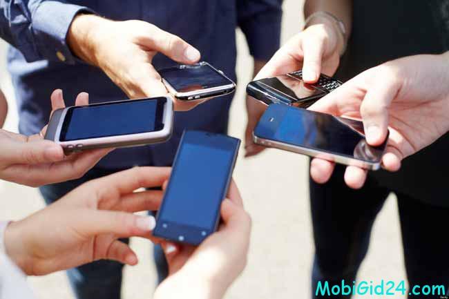 на сайте мобильного оператора