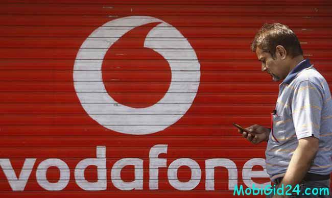 Vodafone на территории Украины