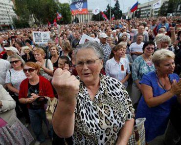 жители ДНР и ЛНР
