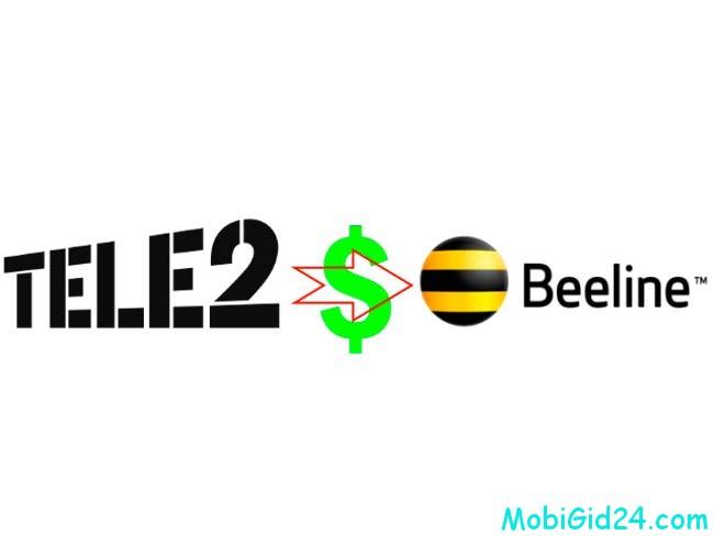 Теле2 и Билайн